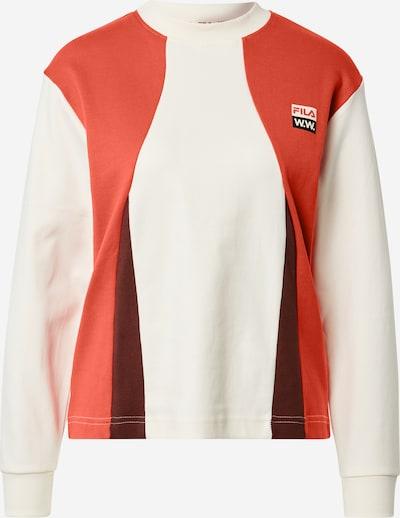 FILA Тениска 'MONICA' в бежово / червено, Преглед на продукта