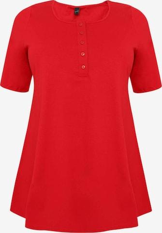 Yoek Tunic ' COTTON ' in Red