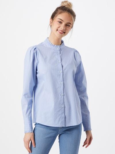 ONLY Blusa 'Nessa' en azul claro / blanco, Vista del modelo