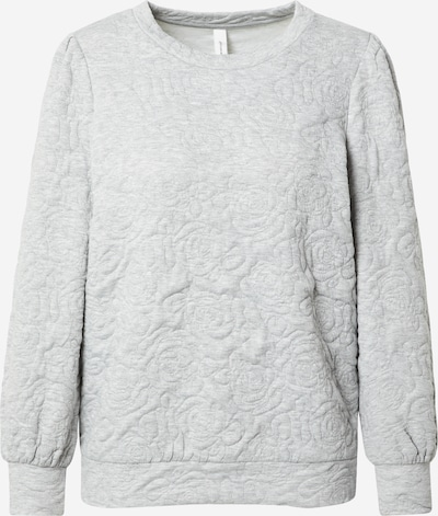 Soyaconcept Sweatshirt 'RASHA 14' in graumeliert, Produktansicht