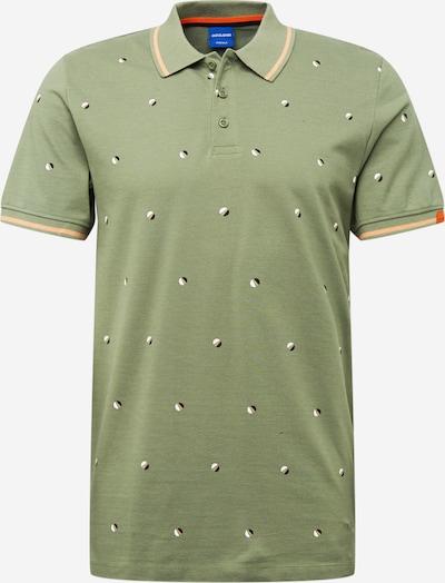 JACK & JONES Shirt 'Logon' in de kleur Navy / Kaki / Wit, Productweergave