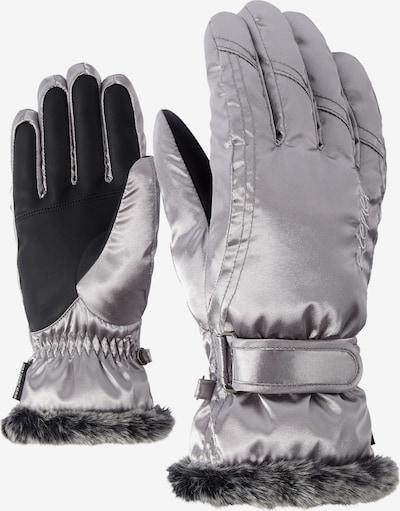 ZIENER Skihandschuhe 'KIM' in silber, Produktansicht