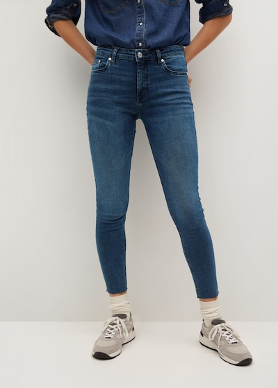 MANGO Jeans 'Isa' in blue denim, Modelansicht