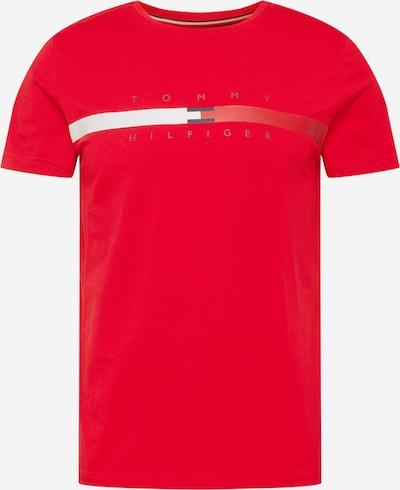Tricou TOMMY HILFIGER pe roșu / alb, Vizualizare produs
