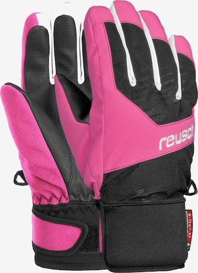 REUSCH Fingerhandschuhe 'Torbenius R-TEX® XT Junior' in pink / schwarz, Produktansicht