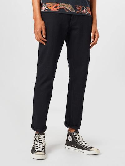 JACK & JONES Jeans 'CLARK' in black denim, Modelansicht