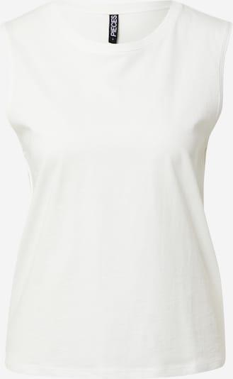 PIECES Haut 'TAXANNA' en blanc, Vue avec produit