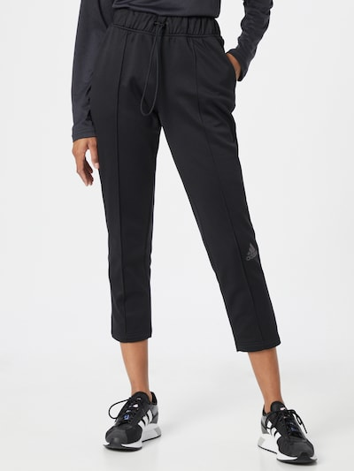 Pantaloni sport 'UFORU' ADIDAS PERFORMANCE pe negru, Vizualizare model