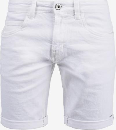 INDICODE JEANS Jeansshorts 'Quentin' in weiß, Produktansicht