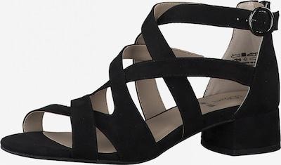 Sandale cu baretă s.Oliver pe negru, Vizualizare produs