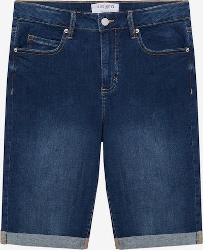 VIOLETA by Mango Jeans in de kleur Donkerblauw, Productweergave