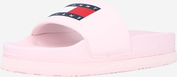 Tommy Jeans Badeschuh in Pink