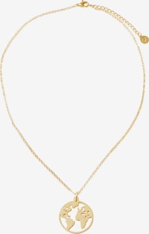 GOOD.designs Kette 'Welt' in Gold