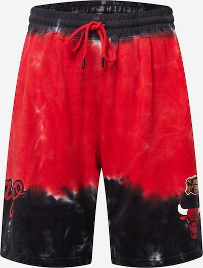 Pantaloni Mitchell & Ness pe roșu / negru / alb, Vizualizare produs