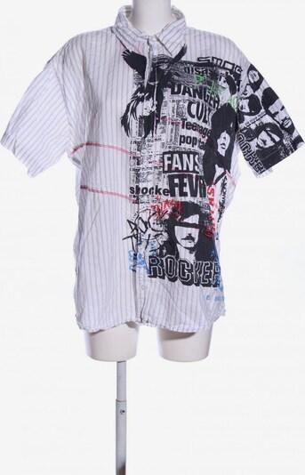 SMOG Co. Kurzarmhemd in 5XL in schwarz / weiß, Produktansicht