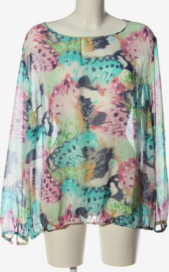 ERFO Langarm-Bluse in XXXL in blau / pink / weiß, Produktansicht
