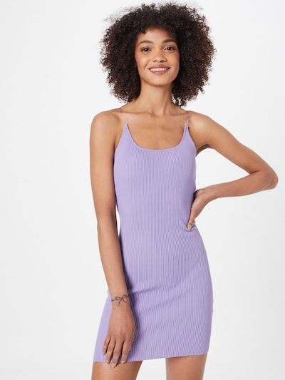 Missguided Kleid in helllila, Modelansicht