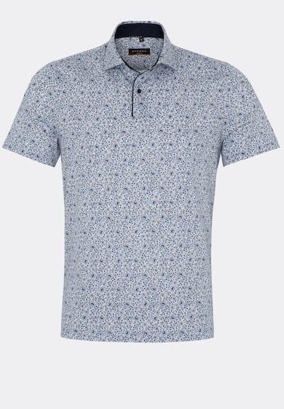 ETERNA Poloshirt in dunkelblau / weiß, Produktansicht