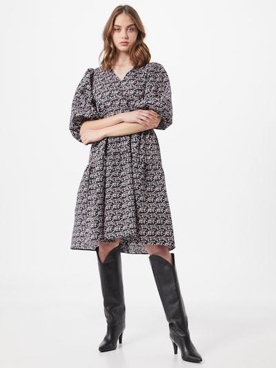 Neo Noir Kleid in mischfarben, Modelansicht