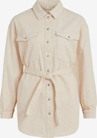 VILA Jeanshemd in beige, Produktansicht