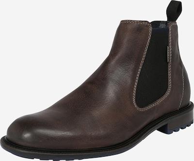 bugatti Chelsea Boots 'Bonifacio' en taupe, Vue avec produit