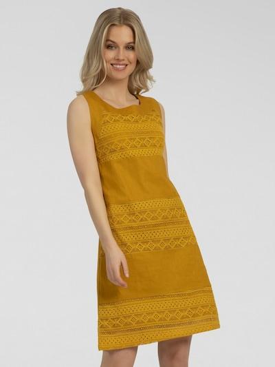 APART Summer Dress in Mustard, View model