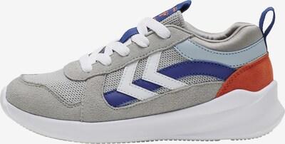 Hummel Sneaker in blau / grau / rot / weiß, Produktansicht