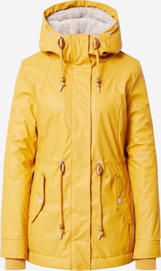 Ragwear Jacke 'MONADIS' in goldgelb, Produktansicht
