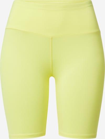 Sportinės kelnės iš Hey Honey, spalva – neoninė geltona / pilka, Prekių apžvalga