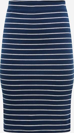Tommy Jeans Curve Jupe en bleu marine / blanc, Vue avec produit