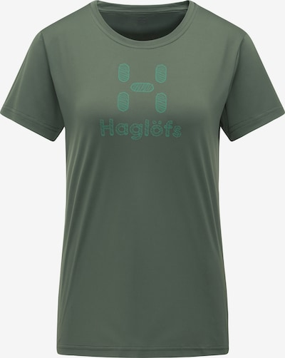 Haglöfs Functioneel shirt 'Glee' in de kleur Blauw / Groen, Productweergave