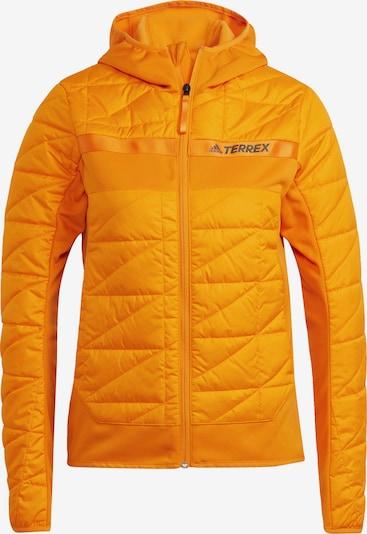 adidas Terrex Outdoorjas 'Terrex' in de kleur Sinaasappel / Zwart, Productweergave