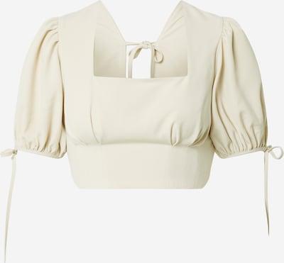 Fashion Union Blouse 'LESINA' in de kleur Crème, Productweergave