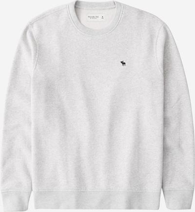 Abercrombie & Fitch Sweatshirt in grau / schwarz, Produktansicht