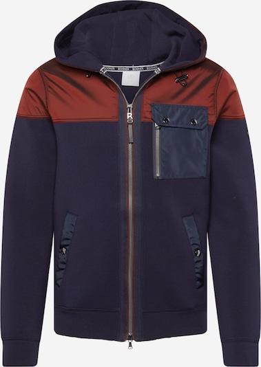 BOGNER Tepláková bunda 'WARTEN' - tmavomodrá / tmavočervená, Produkt