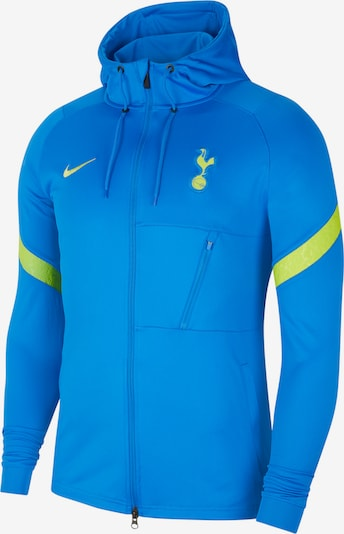 NIKE Athletic Jacket in Neon blue / Neon green, Item view