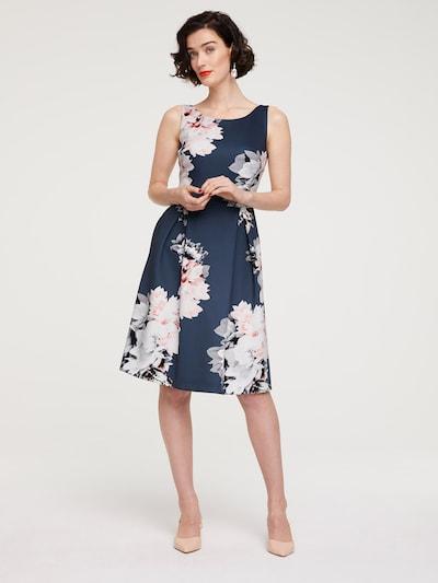 heine Cocktailkleid in blau / weiß, Modelansicht