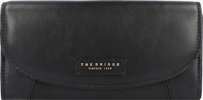 The Bridge Geldbörse in schwarz, Produktansicht