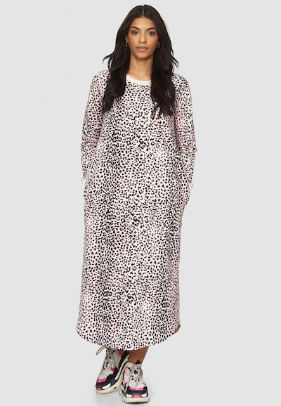 Cotton Candy Kleid 'TILDA' in pink / schwarz / weiß, Modelansicht
