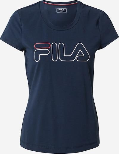 FILA T-Shirt 'Reni' in blau / rot / weiß, Produktansicht