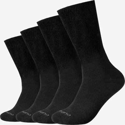 camano Socken 'Comfort Plus Diabetiker' in schwarz, Produktansicht