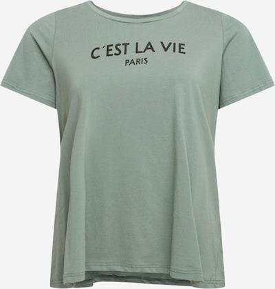 Zizzi Shirt 'Echerie' in de kleur Donkergroen, Productweergave