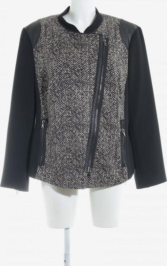 TAIFUN Kurz-Blazer in XXXL in hellbraun / schwarz, Produktansicht