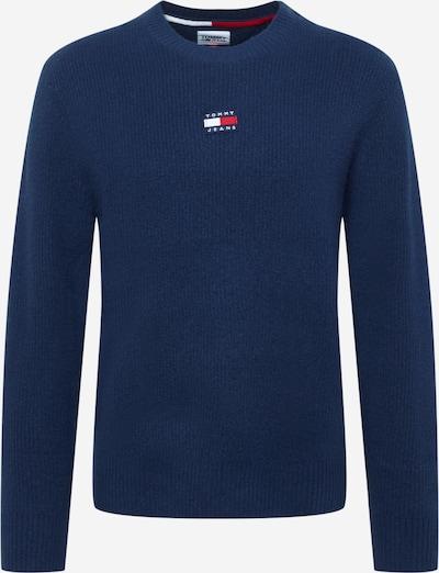 Tommy Jeans Pull-over en bleu, Vue avec produit