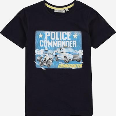 SALT AND PEPPER T-Shirt en bleu marine / bleu ciel / jaune / gris / noir / blanc, Vue avec produit