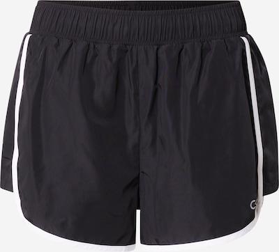 Calvin Klein Performance Sporthose in schwarz / weiß, Produktansicht