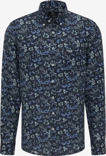 FYNCH-HATTON Langarm Freizeithemd in marine, Produktansicht