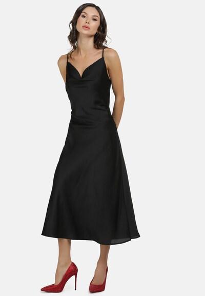 faina Abendkleid in schwarz, Modelansicht