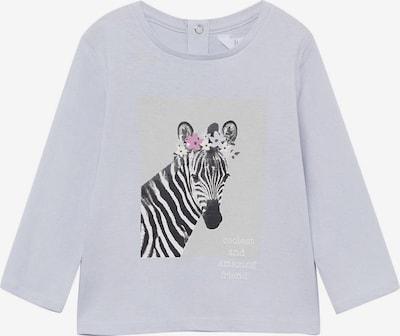 MANGO KIDS Shirt 'SAFARI' in himmelblau / hellgrau / fuchsia / schwarz / weiß, Produktansicht