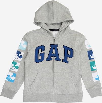 GAP Tepláková bunda 'MICKEY' - svetlomodrá / tmavomodrá / sivá / biela, Produkt
